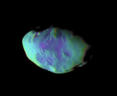 Telesto in false color