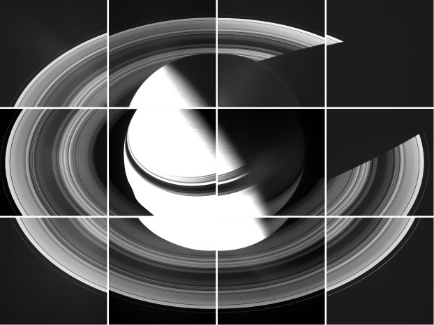 Pieces coming together for a view of Saturn from above
