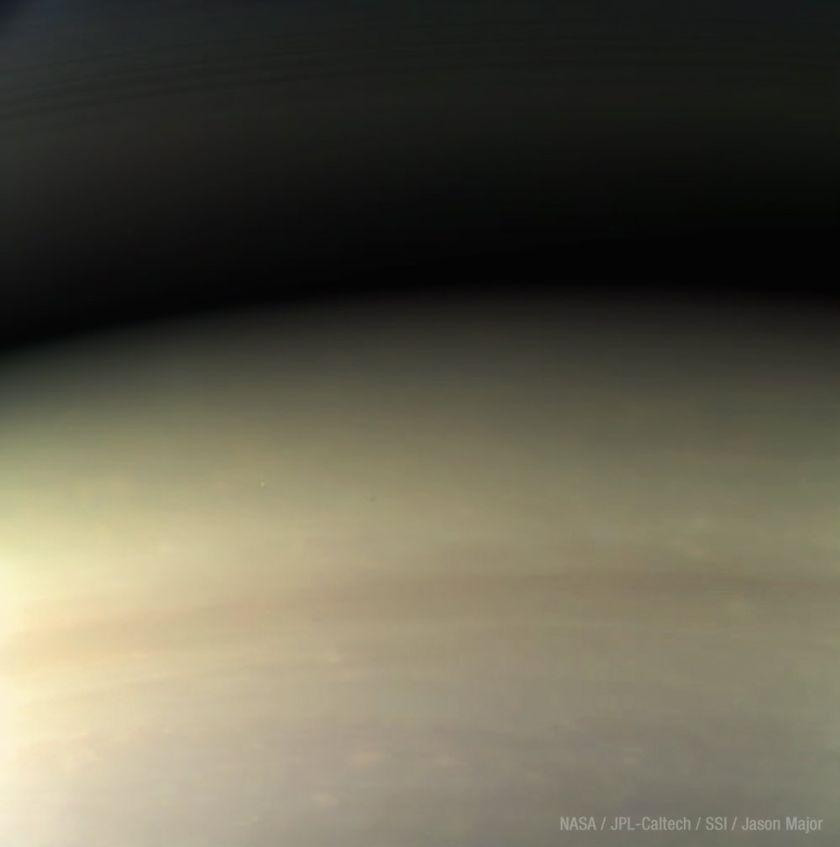 Cassini's last image