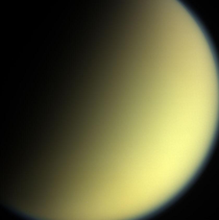 Cassini's final view of Titan
