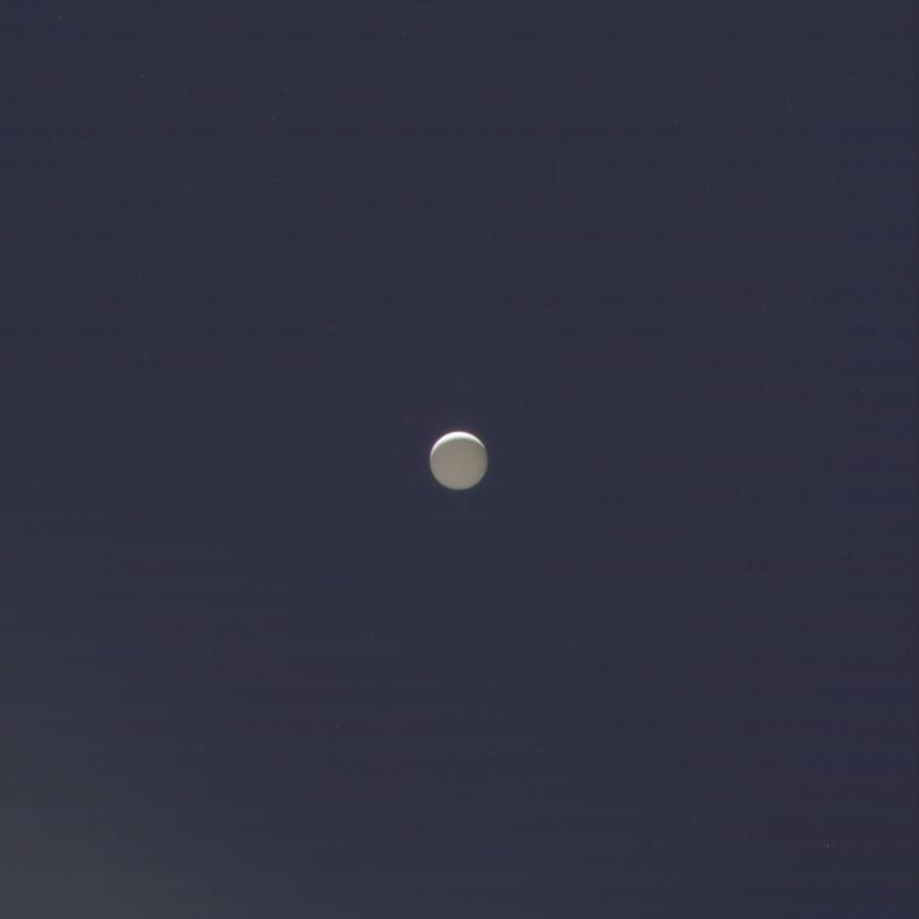 A final glimpse of Enceladus