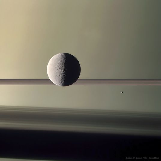 Rhea and Epimetheus