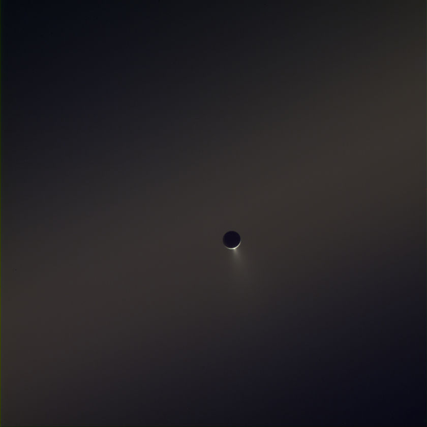 Enceladus creating the E ring