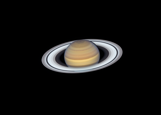 Saturn from Hubble, 20 June 2019