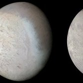 Voyager 2's changing view of triton