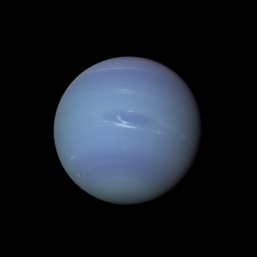 Voyager 2 view of Neptune