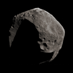 Asteroid 253 Mathilde in color