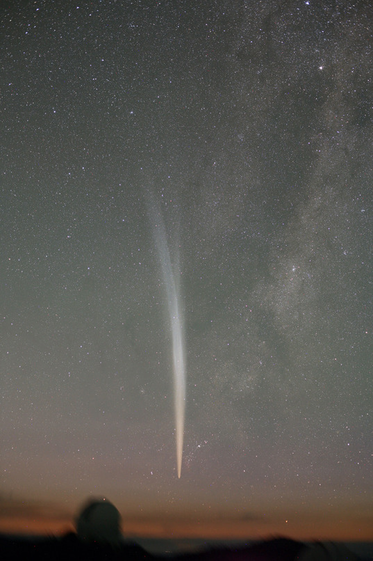 Comet Lovejoy by Robert McNaught