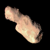 Composite image of Toutatis from Chang'E 2 photos