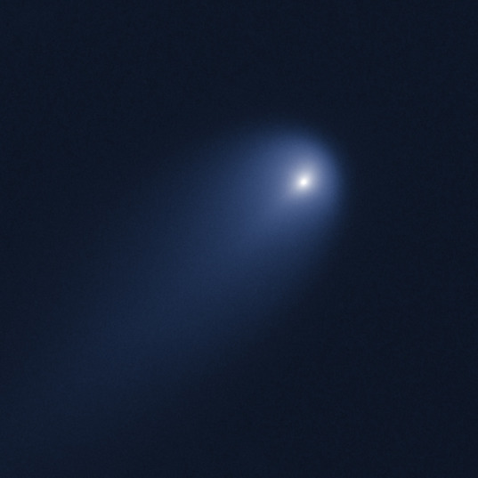 Comet ISON from Hubble