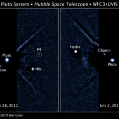 A fourth moon for Pluto