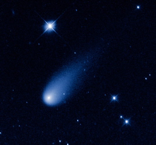 Comet ISON from Hubble (8 May 2013)