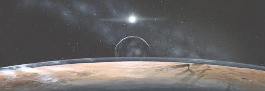 Pluto, imagined