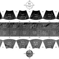 Photo-atlas of asteroid Vesta based on Low Altitude Mapping Orbit (LAMO) image data