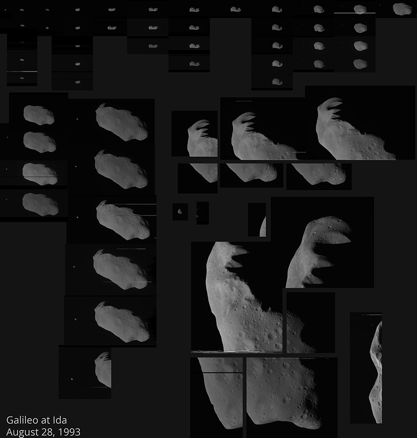 Galileo's complete Ida and Dactyl image catalog