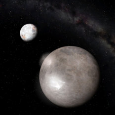 Pluto and Charon (artist's concept)