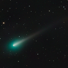 Comet ISON comes into view