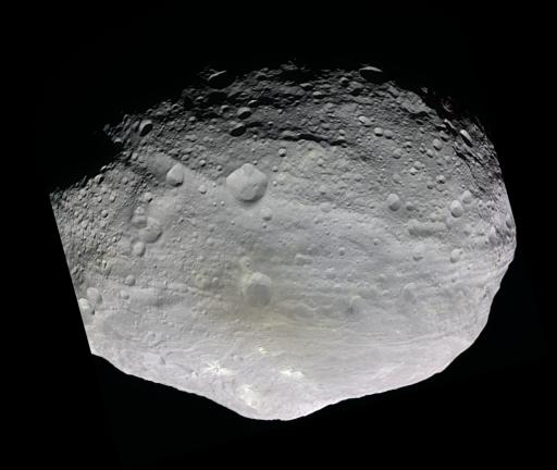 Vesta in nearly natural color
