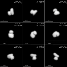 Comet Churyumov-Gerasimenko from Rosetta on July 11, 2014