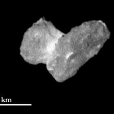 OSIRIS view of comet Churyumov-Gerasimenko on July 29, 2014