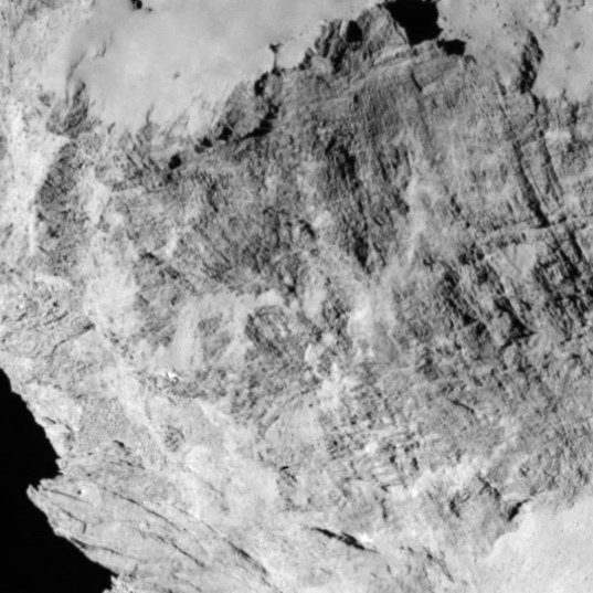 C-G detail: striated terrain