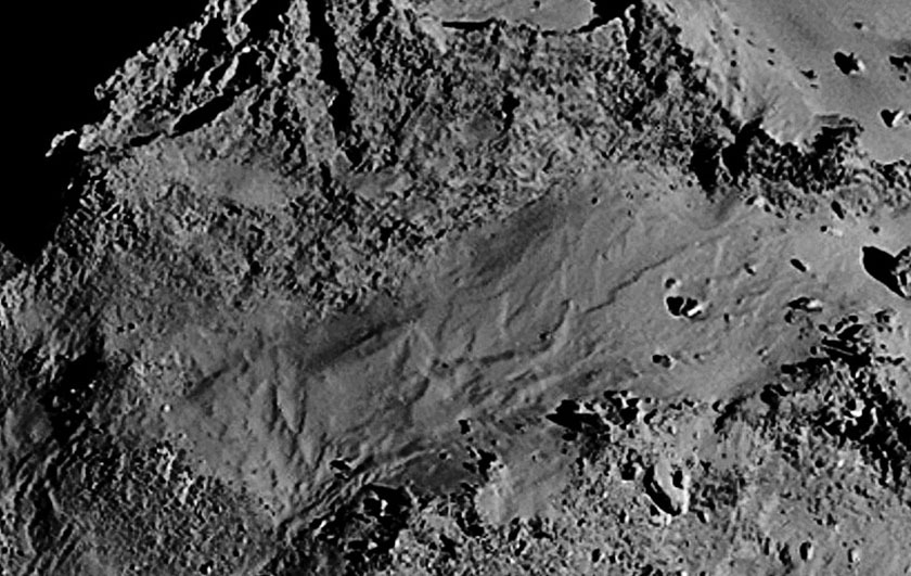 Rosetta NavCam 67P Sep 14, 2014 detail #6