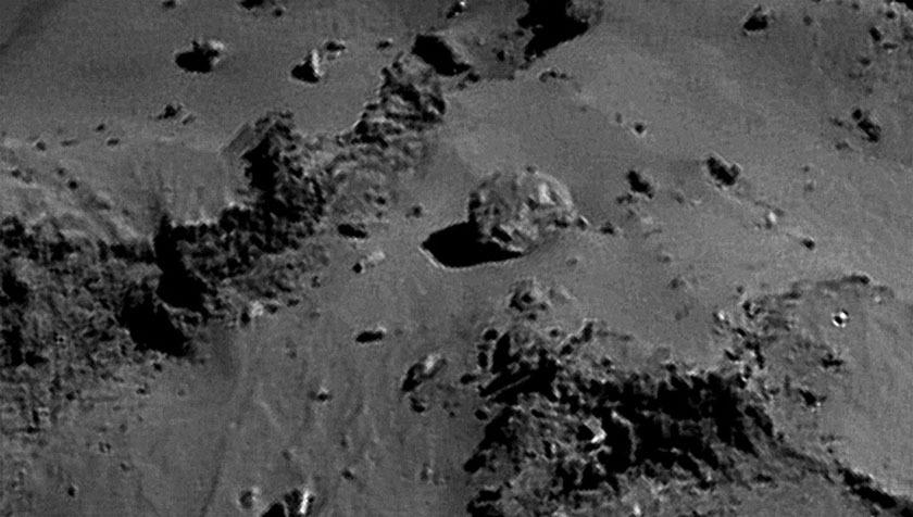 Rosetta NavCam 67P Sep 14, 2014 detail #8