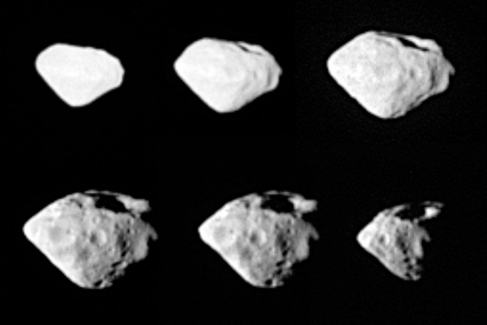 Asteroid Steins from Rosetta's flyby in 2008