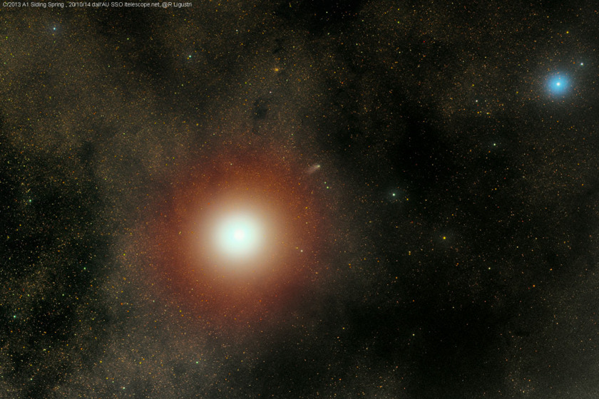 Comet Siding Spring after its close approach to Mars (Rolando Ligustri)