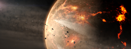 Asteroids on collision courses