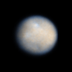 Hubble view of Ceres, January 23, 2004