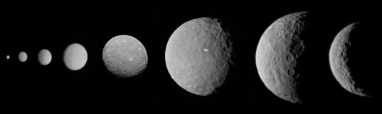 Approaching Ceres