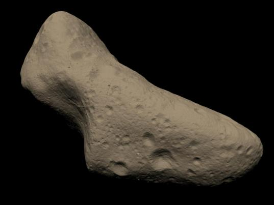Asteroid Eros reconstructed
