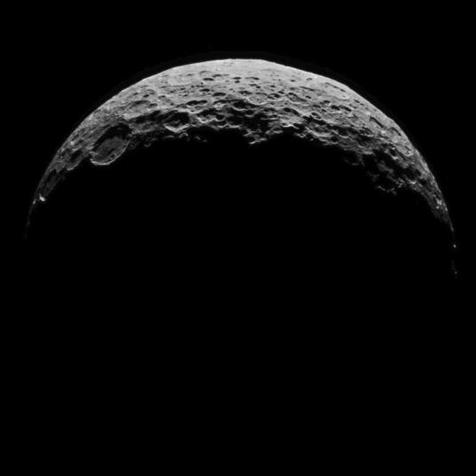 Crescent Ceres, April 30, 2015