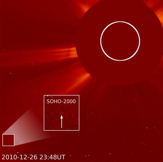 SOHO's 2000th comet