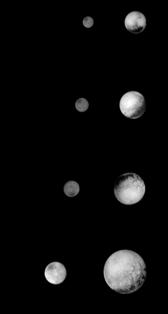 Zooming in to Pluto and Charon: July 8-11, 2015