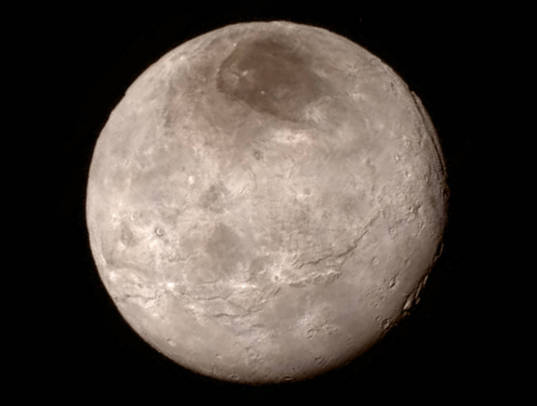 Charon's surprising, youthful, and varied terrain