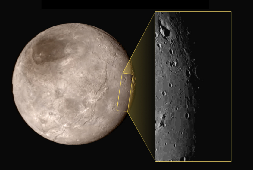 New Horizons' first high-resolution view of Charon