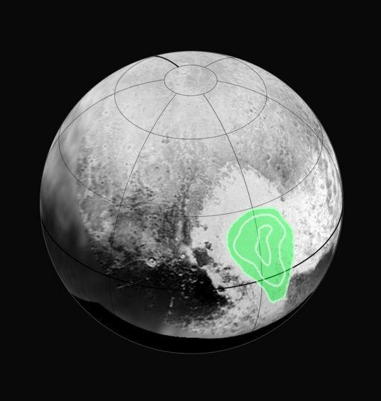 "Peering closely at the ""heart of Pluto"""