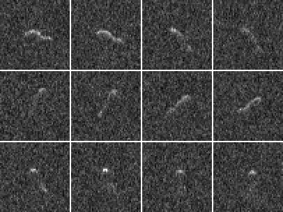 Radar images of comet 103P/Hartley 2
