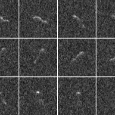Radar images of comet 103P/Hartley 2