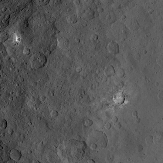 Ceres from Dawn Survey's Orbit