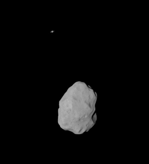 Lutetia - and Saturn!