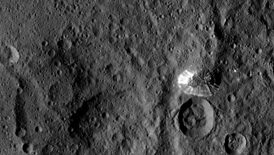 Mountain on Ceres