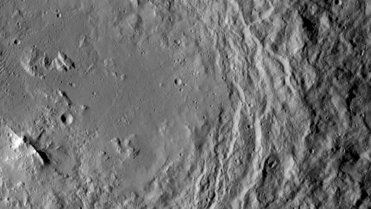 Urvara Crater, Ceres