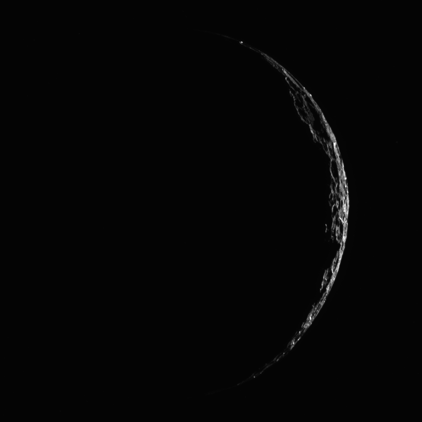 Skinny crescent Ceres