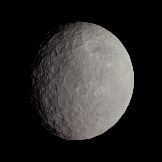 Color global view of Ceres: Dantu crater