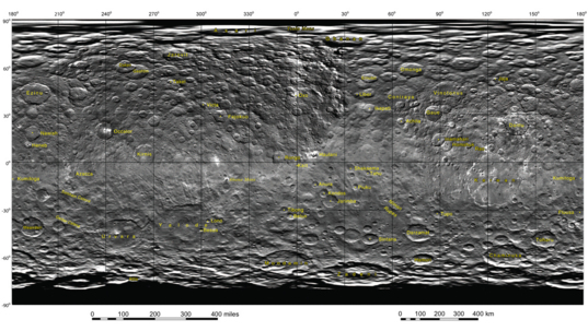 Feature names on Ceres