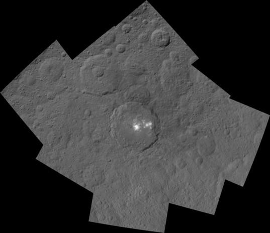 Occator crater