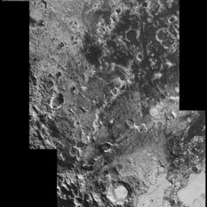 Zigzagging across Pluto